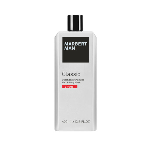 Marbert Man Classic Sport Shower Gel & Shampoo 400ml