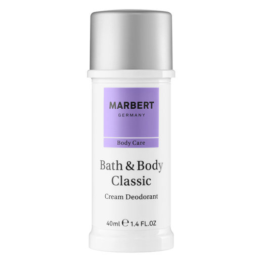 Marbert Bath & Body Classic Cream Deodorant 40ml