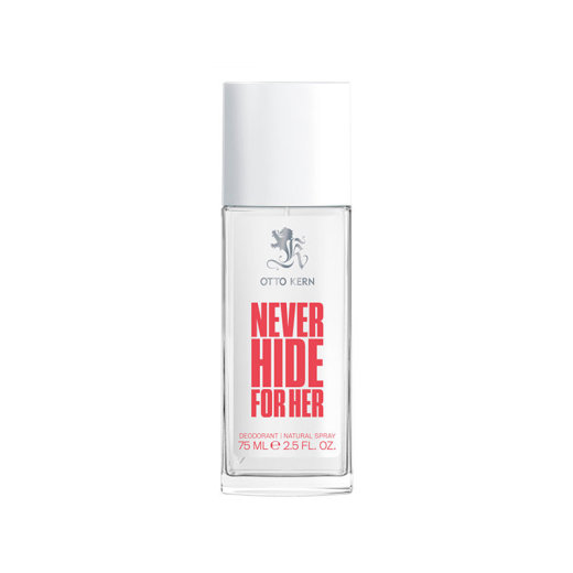 Otto Kern Never Hide for Her Deodorant Natural Spray 75ml