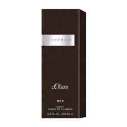 s.Oliver Superior Men 2 in 1 Shower Gel & Shampoo 200 ml