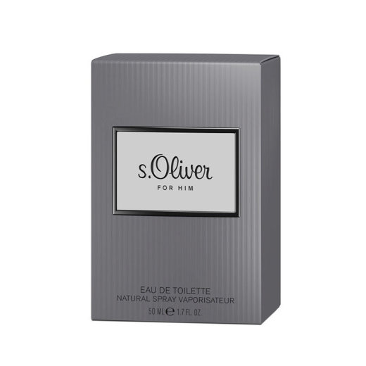 s.Oliver For Him Eau de Toilette Natural Spray 50 ml