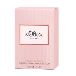 s.Oliver For Her Eau de Parfum Natural Spray 30 ml