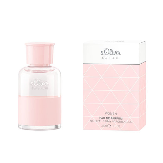 s.Oliver SO PURE Woman Eau de Parfum Natural Spray 30 ml