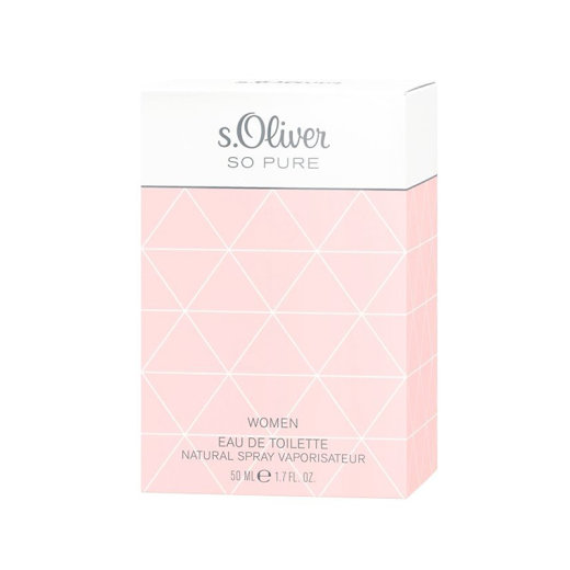 s.Oliver SO PURE Woman Eau de Toilette Natural Spray 50 ml