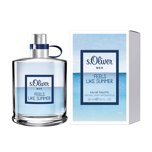 s.Oliver Men Feels Like Summer Eau de Toilette Natural...
