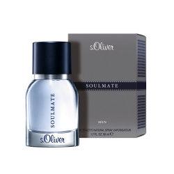 s.Oliver SOULMATE Men Eau de Toilette Natural Spray 50 ml