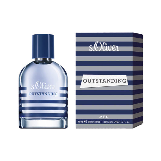 s.Oliver OUTSTANDING Men Eau de Toilette 50 ml
