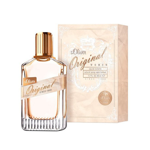 s.Oliver ORIGINAL Women Eau de  Toilette Spray 50 ml