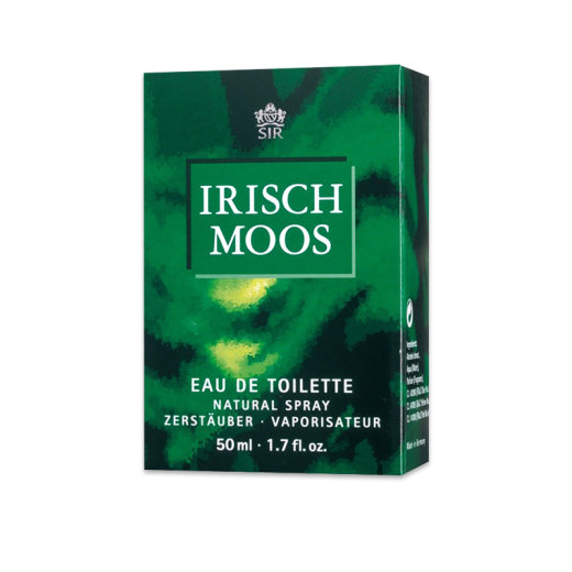 Sir Irisch Moos Eau de Toilette Natural Spray 50 ml