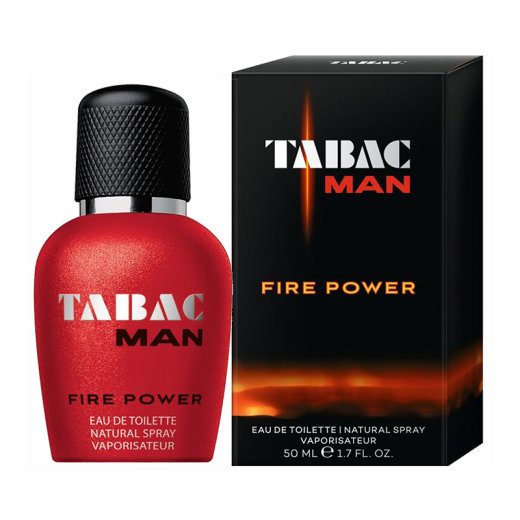 TABAC Man Fire Power Eau de Toilette Nat. Spray 50 ml