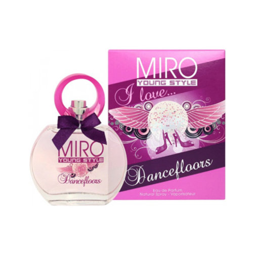 Miro Young Style I Love Dancefloors Eau de Parfum 50ml