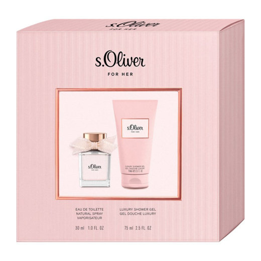 s.Oliver For Her Duo Set EdT 30ml + DG 75ml