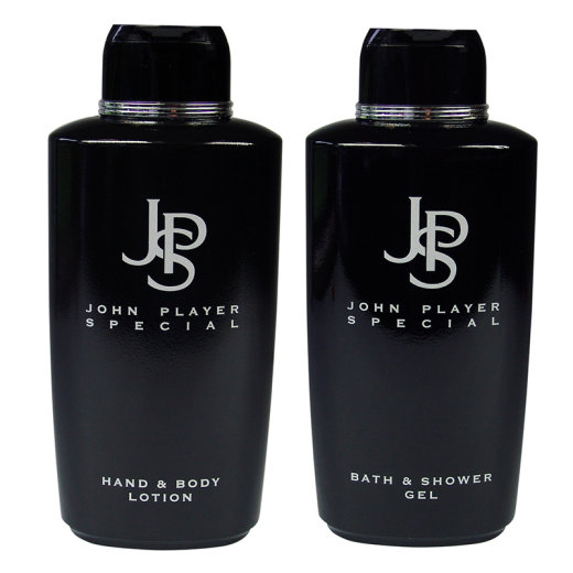 John Player Special BLACK Shower Gel + Body Lotion je 500ml
