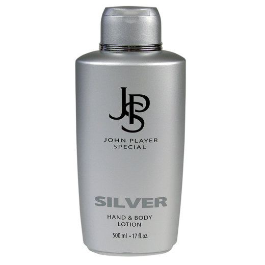 John Player Special SILVER Hand & Body Lotion 500ml