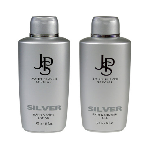John Player Special SILVER Set Shampoo + Body Lotion je...