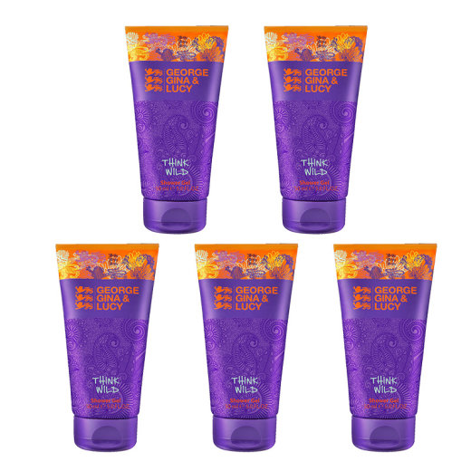 George Gina & Lucy Think Wild 5er Set Shower Gel 50ml