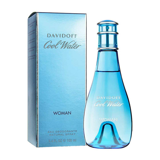 DAVIDOFF Cool Water Woman Eau Deodorant Spray 100ml
