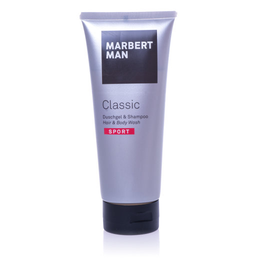 Marbert Man Classic Sport Shower Gel & Shampoo 200ml