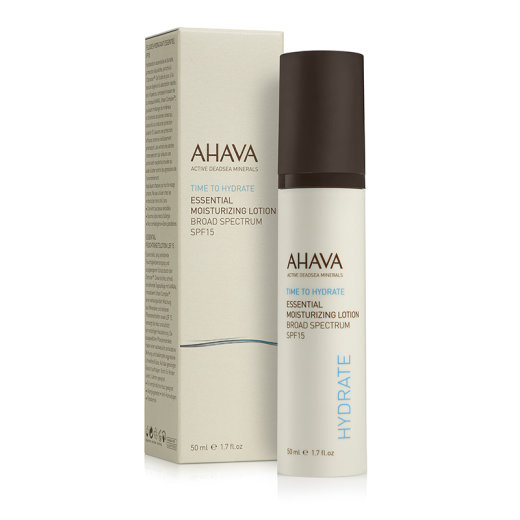 AHAVA Time To Hydrate Essential Moisturizing Lotion SPF15...