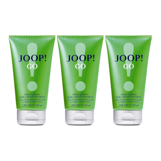 JOOP! GO 3er Set Stimulating Hair & Body Shampoo a 150ml