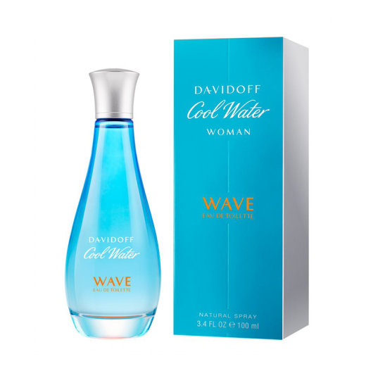 DAVIDOFF Cool Water Woman Wave Eau de Toilette 100ml