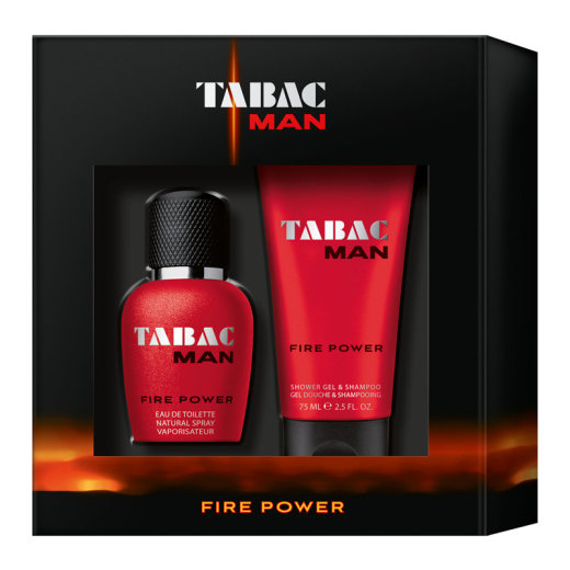 TABAC Man Fire Power Herren Duo Duftset