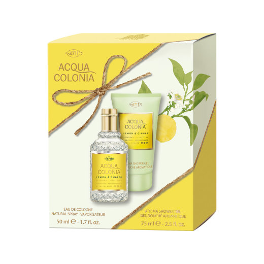 4711 Acqua Colonia Lemon & Ginger Duo Set EDC 50ml + DG 75ml