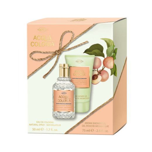 4711 Acqua Colonia White Peach & Coriander Duo Set EDC 50...
