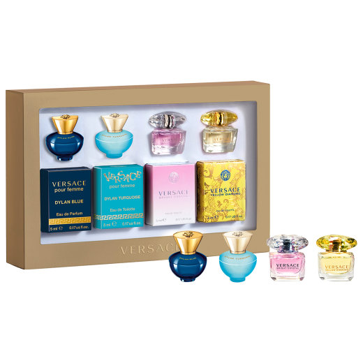 Versace Damen Miniaturen Set EdT 4x5ml