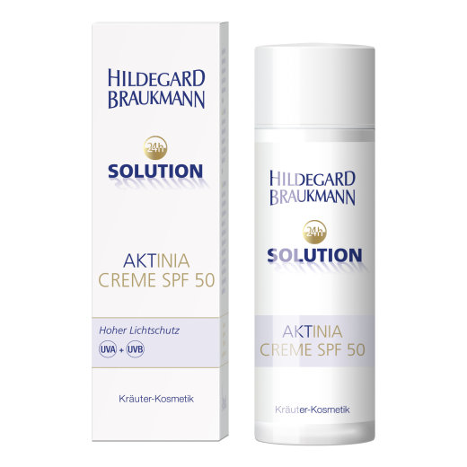 Hildegard Braukmann 24h Solution Aktina Creme SPF50 GR. 50ml