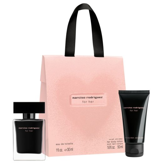 Narciso Rodriguez for her Geschenkset EdT 30 ml + BL 75 ml