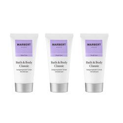 Marbert Bath & Body Classic Anti-Perspirant Cream Deodorant 3er Sparset