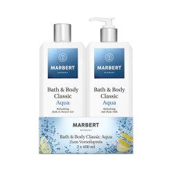 Marbert Bath & Body Classic Aqua Sparset je 400ml
