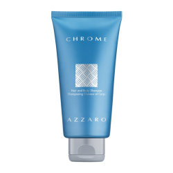Azzaro Chrome Hair and Body Shampoo 300ml
