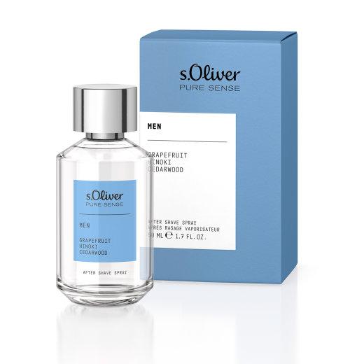 s.Oliver Pure Sense Men After Shave Spray 50ml