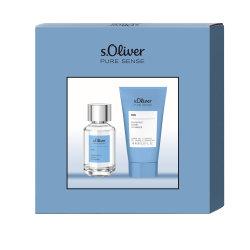 s.Oliver Pure Sense Men Duo Set (EDT 30ml/DG 75ml)