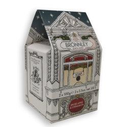BRONNLEY Luxus Seifen Spiced Apple & Cinnamon 2x100g