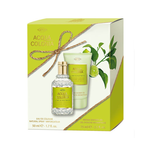 Acqua Colonia Limette & Muskatnuss Travel Set